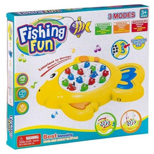 Рыбалка Shenzhen Toys Fishing Fun желтый