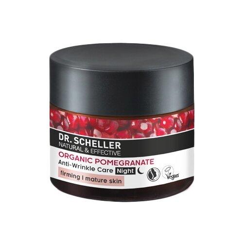 Купить Крем Dr. Scheller Cosmetics Organic Pomegranate Anti-Wrinkle Care ночной для лица, 50 мл