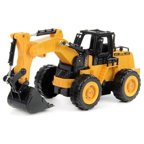 Купить Экскаватор DRIFT 83582 1:32 26 см желтый/черный, Радиоуправляемые игрушки