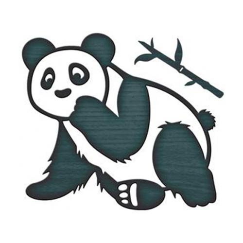 Нож для вырубки Spellbinders Косматая панда (IN-045) 3 шт. черный
