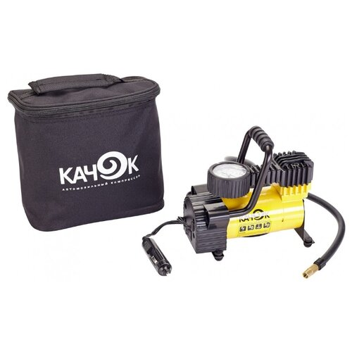 Автомобильный компрессор Качок K50 желтый