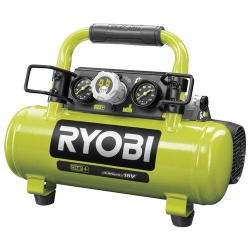 Автомобильный компрессор RYOBI R18AC-0 зеленый