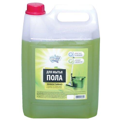 Семь Звёзд Средство для мытья полов Аромат свежести 5 л