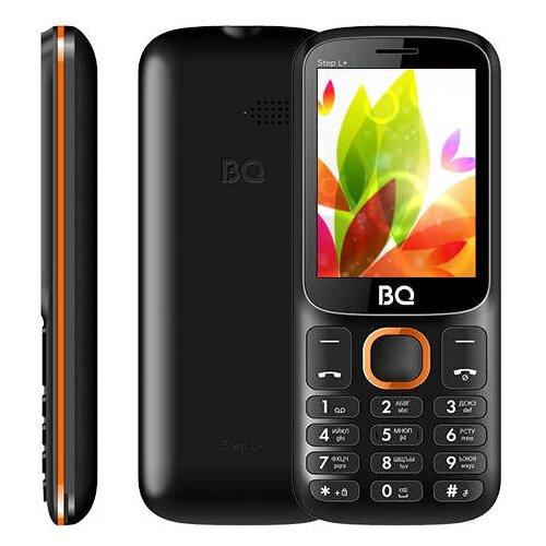 цена на Телефон BQ 2440 Step L+ черный / оранжевый