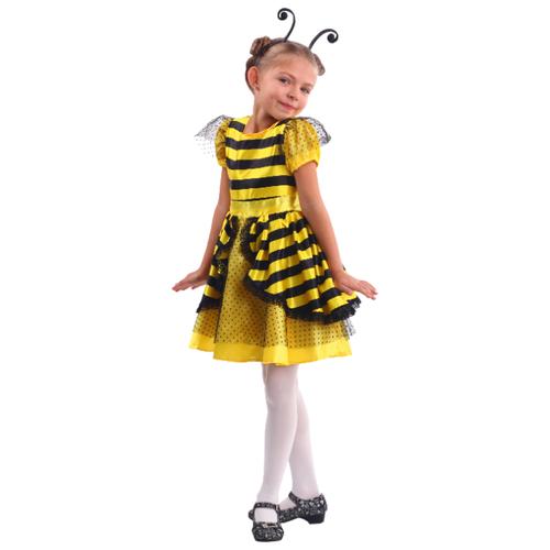 Купить Костюм Батик Пчелка (2060 к-19), черный/желтый, размер 104-52, Карнавальные костюмы