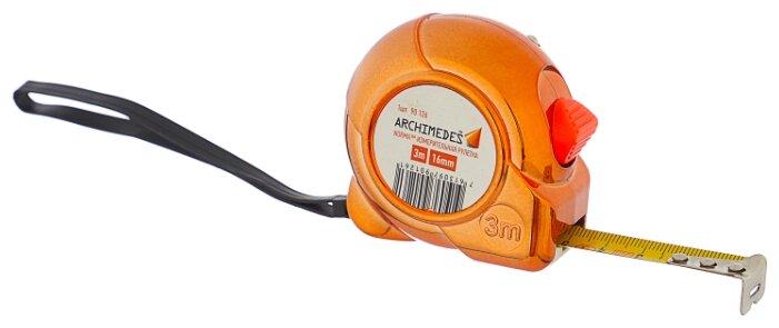 Рулетка Archimedes 90126 16 мм x 3 м