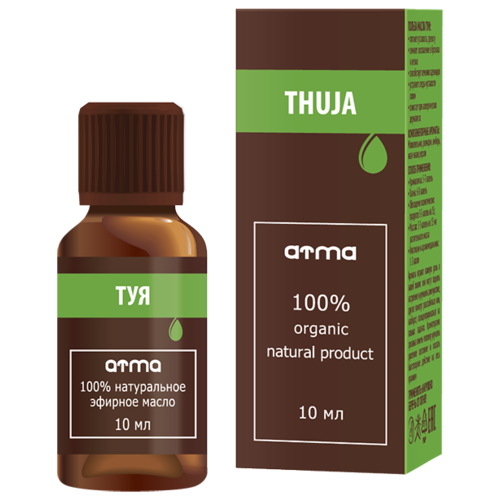 Эфирное масло ATMA Туи 10мл