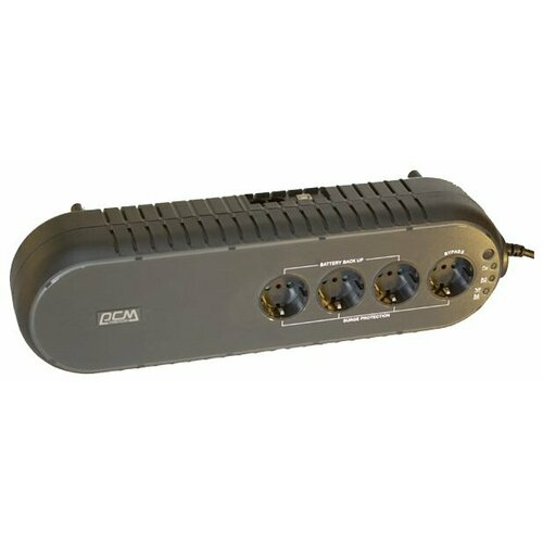 Резервный ИБП Powercom WOW-850 U черный
