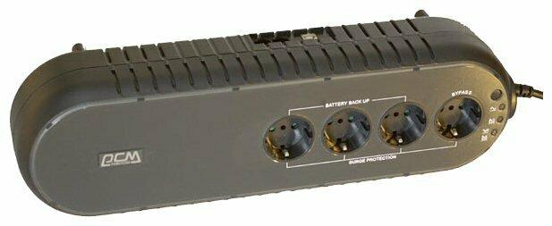 Резервный ИБП Powercom WOW-850 U