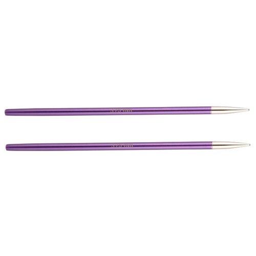Купить Спицы Knit Pro съемные Zing 47522, диаметр 3.8 мм, длина 10 см, amethyst
