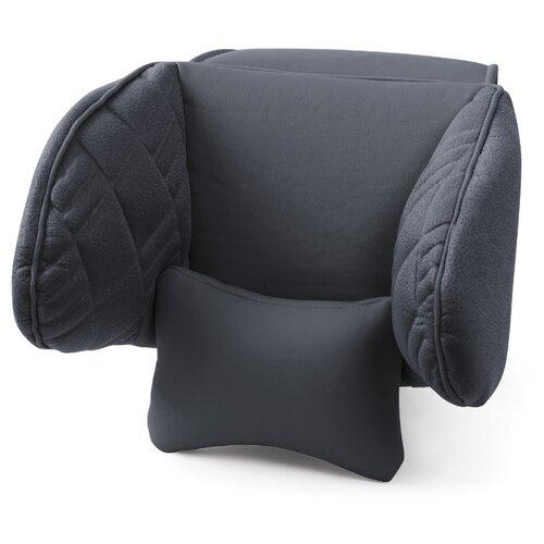 Автомобильная подушка на подголовник AUTOPROFI Comfort COM-0250HR черный