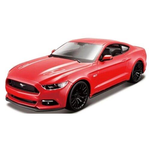 Купить Maisto Машинка 1:24 2015 Ford Mustang GT SPAL, красная, Машинки и техника