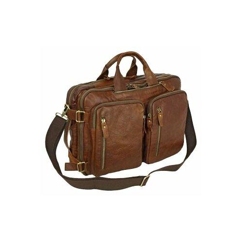 Сумка-рюкзак POLAR 6031 коричневый сумка polar polar po001bwfyur2
