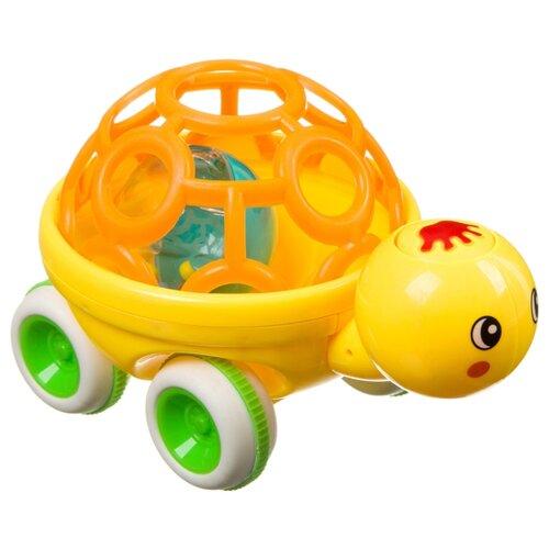 Купить Развивающая игрушка BONDIBON Baby You Черепаха (ВВ3532) желтый/оранжевый, Развивающие игрушки