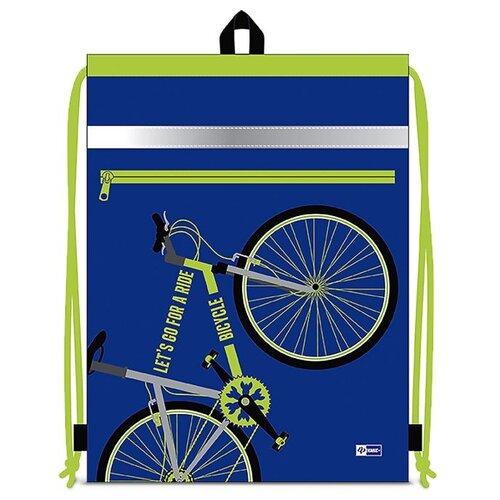 Феникс+ Мешок для обуви Велосипед (49230) синий / зеленый феникс мешок для обуви скейт