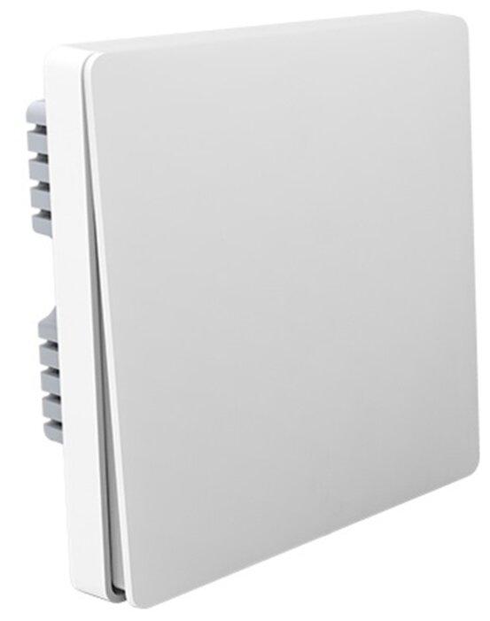 Aqara Выключатель настенный одноклавишный Wall Switch (No Neutral, Single Rocker), белый