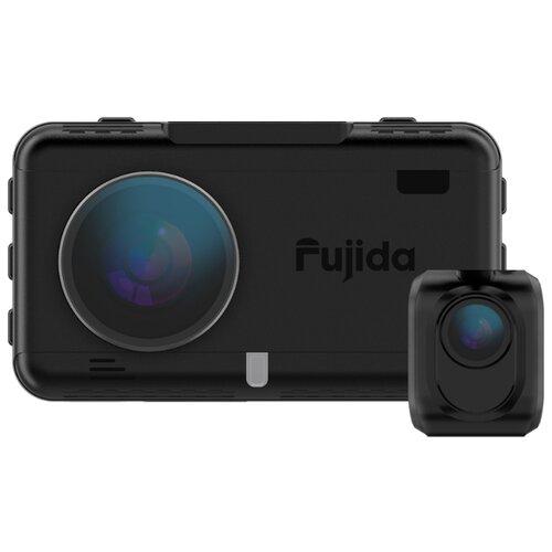 Видеорегистратор с радар-детектором Fujida Karma Duos S WiFi, 2 камеры, GPS, ГЛОНАСС черный радар детектор fujida magna