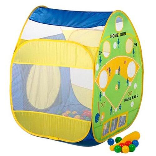 Купить Палатка Calida Бейсбол 661 синий/желтый/зеленый, Игровые домики и палатки