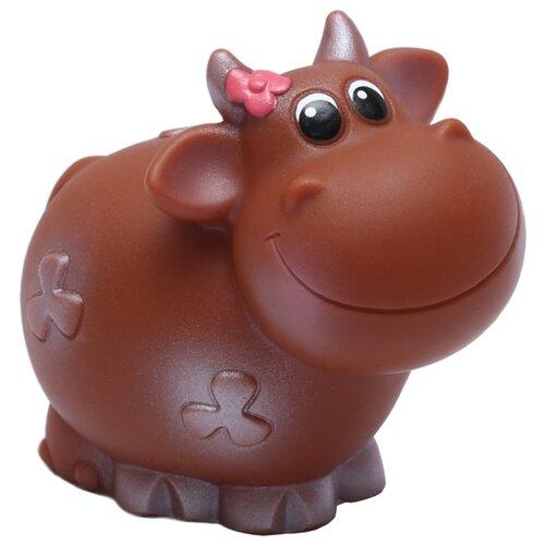 Игрушка для ванной ОГОНЁК Коровка Ириска (С-1544) коричневый, Игрушки для ванной  - купить со скидкой