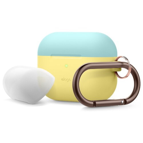 Чехол Elago Pro Duo Hang Creamy Yellow/Coral Blue/Nightglow Blue