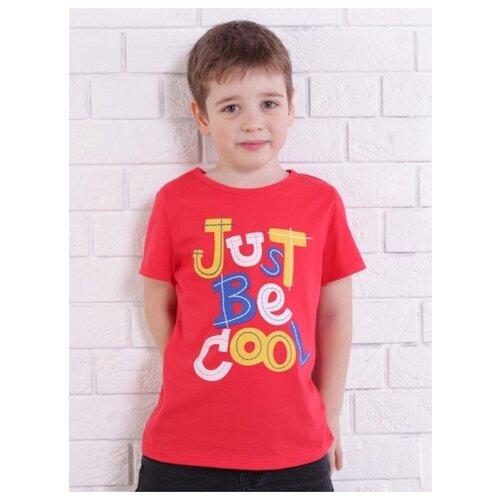 Купить Футболка Jewel Style размер 110, красный, Футболки и майки