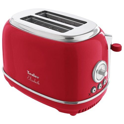 Тостер Tesler TT-245, red