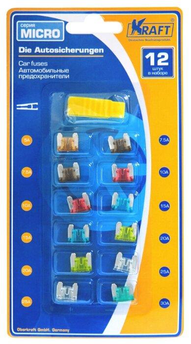 Купить Набор предохранителей в блист, (серия MICRO 12шт) по низкой цене с доставкой из Яндекс.Маркета