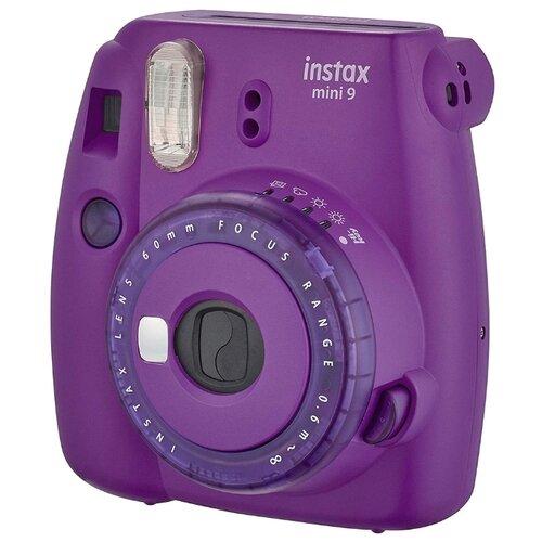 Фото - Фотоаппарат моментальной печати Fujifilm Instax Mini 9 purple фотоальбом fujifilm instax mini 9 twin flip album lime green 70100139056