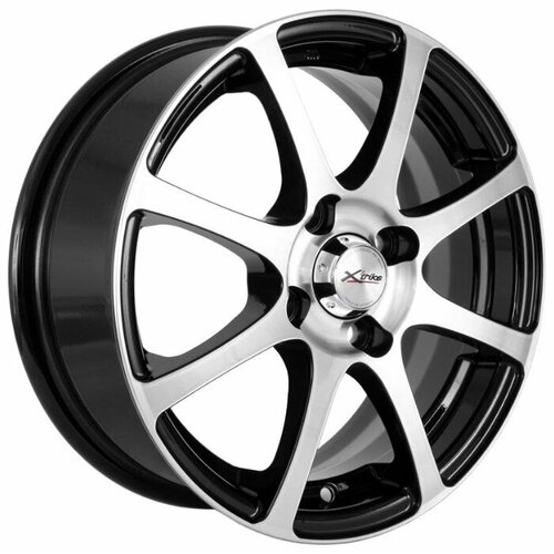 Фото - Колесный диск X'trike X-114 5.5x14/4x100 D67.1 ET45 BK/FP колесный диск x trike x 129 6 5x16 4x100 d67 1 et36 bk fp