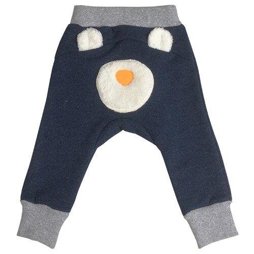 Купить Брюки Sonia Kids Веселые медведи З9103001 размер 86, синий, Брюки и шорты