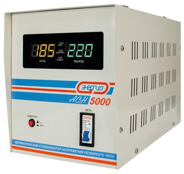 Стабилизатор напряжения однофазный Энергия ACH 5000 (2019) фото 1