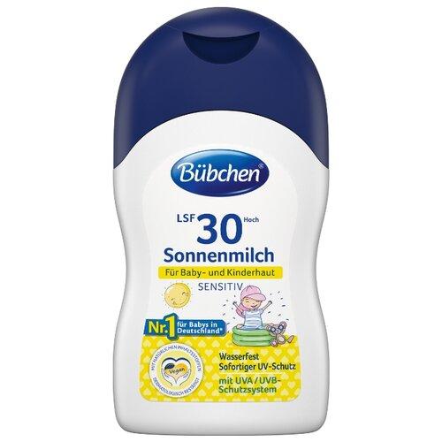Bubchen Солнцезащитное молочко для младенцев и детей с чувствительной кожей SPF 30 150 мл