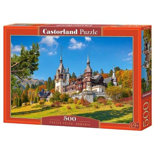 Фото - Пазл Castorland Castle Peles, Romania (B-53292), 500 дет. пазл castorland old sutter's mill b 52691 500 дет