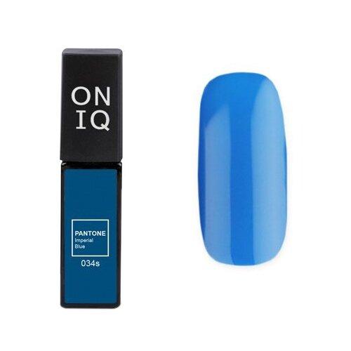 Купить Гель-лак для ногтей ONIQ Pantone, 6 мл, 034S Imperial blue