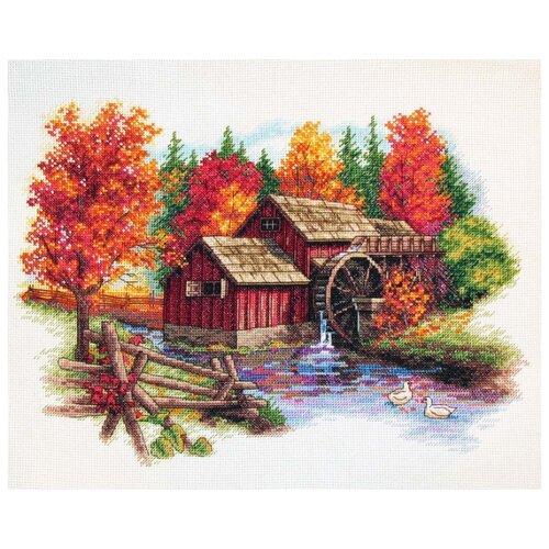 Купить Dimensions Набор для вышивания Великолепие осени 36 х 28 см (35199), Наборы для вышивания