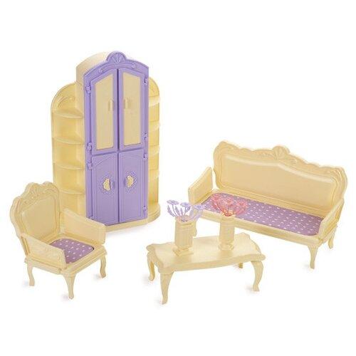 Фото - Гостиная комната Маленькая принцесса, цвет: лимонный ванная комната для куклы огонек маленькая принцесса