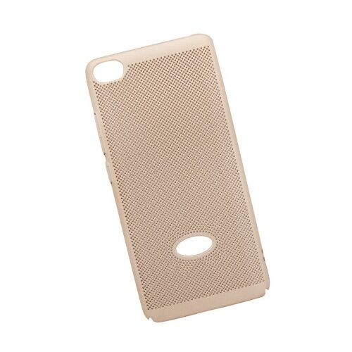 Чехол Liberty Project Сетка Soft Touch для Xiaomi Mi 5S золотой