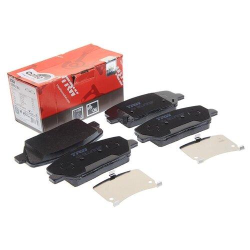 Фото - Дисковые тормозные колодки передние TRW GDB3582 для Hyundai, Kia (4 шт.) дисковые тормозные колодки передние trw gdb3286 для toyota highlander lexus rx 4 шт