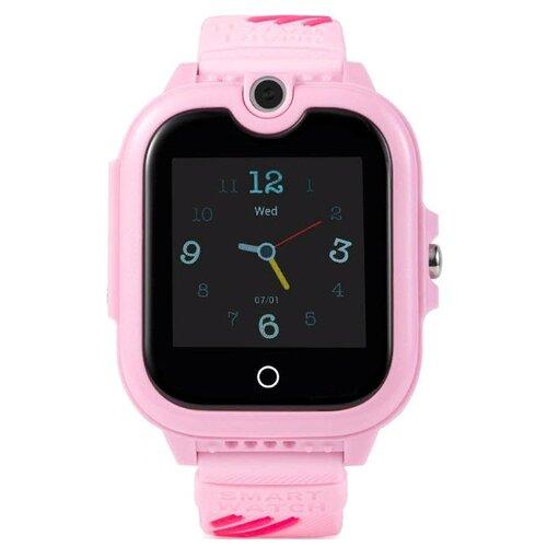Детские умные часы c GPS Smart Baby Watch KT13 розовый детские умные часы smart baby watch q80 желтый