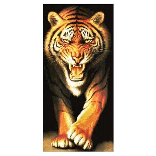 Алмазная живопись Набор алмазной вышивки Тигр (АЖ-185) 51x105 смАлмазная вышивка<br>
