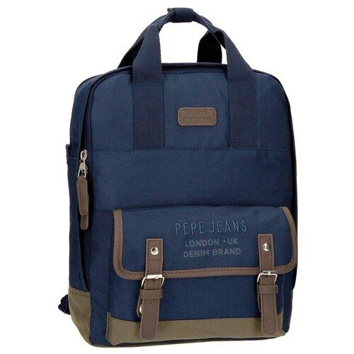 Рюкзак Pepe Jeans Alber Laptop Backpack синийСумки и рюкзаки<br>