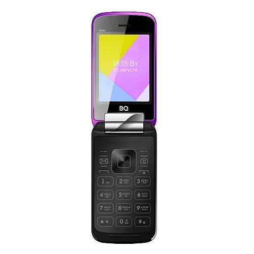 Телефон BQ 2816 Shell фиолетовый телефон
