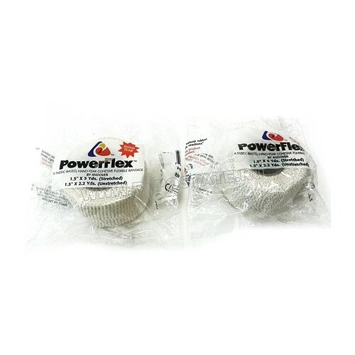 Лента хоккейная для рукоятки Power Flex цветная 4,5 м L917, Белый
