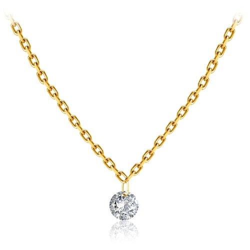 Бронницкий Ювелир Колье из желтого золота 54309676, 47 см, 1.69 г бронницкий ювелир колье из желтого золота 54319559 45 см 2 98 г