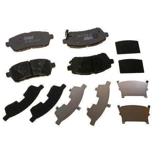 Фото - Дисковые тормозные колодки передние TRW GDB3437 для Daihatsu, Ford, Subaru, Suzuki, Mazda (4 шт.) дисковые тормозные колодки передние ferodo fdb4446 для mazda 3 mazda cx 3 4 шт