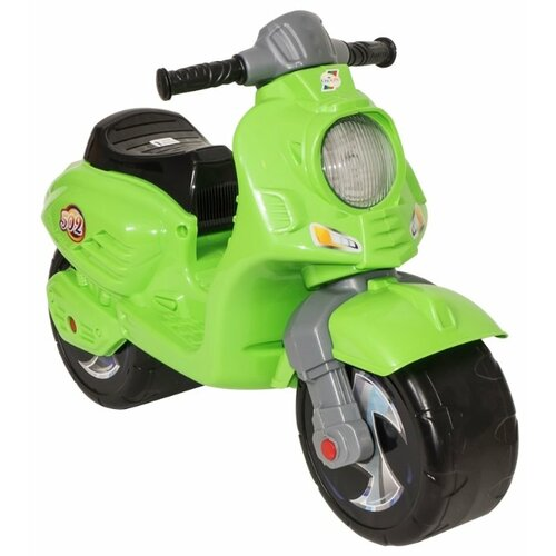 Купить Каталка-толокар Orion Toys Скутер (502) салатовый, Каталки и качалки