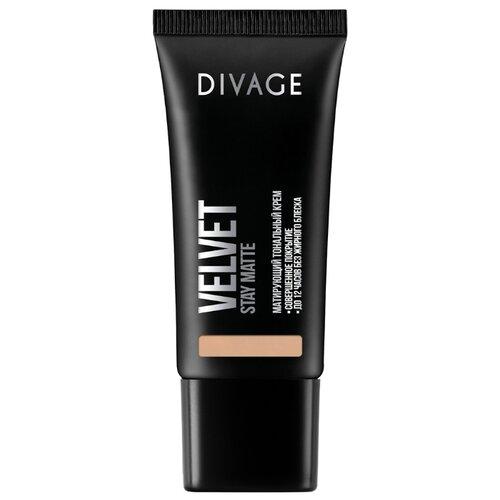 DIVAGE Тональный крем Velvet, 30 мл, оттенок: 08 divage velvet тональный крем тон 06 30 мл