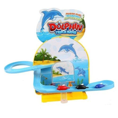 Трек LiChengFeng Горка с 3 дельфинами, Детские треки и авторалли  - купить со скидкой
