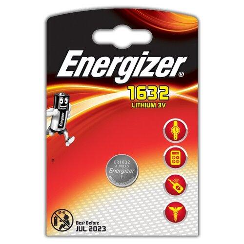 Батарейка Energizer CR1632 1 шт блистер