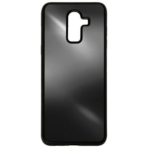 Чехол Akami Mirror для Samsung Galaxy J8 (2018) черный